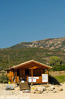 Photo : Poste de secours, Plage d'Arone, Piana, Corse-du-Sud (2A)