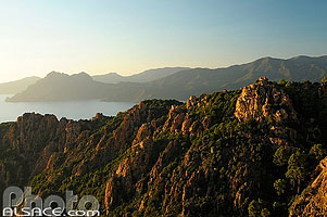 Photo : Les Calanches de Piana, Piana, Corse-du-Sud (2A), Corse, France