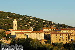 Photo : Village de Piana, Corse-du-Sud (2A), Corse, France
