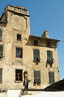 Photo : Place Gaffori, Corse, Parc Naturel Régional de Corse, Haute-Corse (2B), Corse, France