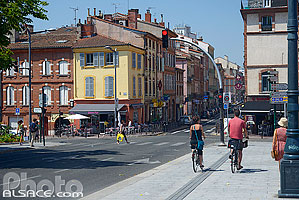 Photo : Quartier Saint-Cyprien, Toulouse, Haute-Garonne (31)