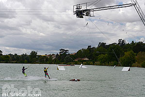 Wake-board, Lac de L'Isle-Jourdain, Gers (32)