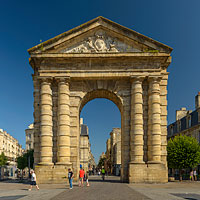 Photo : Porte d'Aquitaine, Place de la Victoire, Bordeaux, Gironde (33)