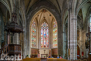 Photo : Eglise Saint-Pierre de Bordeaux, Bordeaux, Gironde (33)