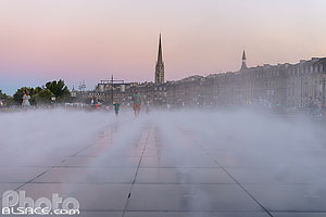 Photo : Le Miroir d'eau, Bordeaux, Gironde (33)