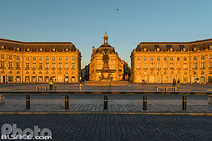 Photo : Place de la Bourse, Bordeaux, Gironde (33), Aquitaine, France