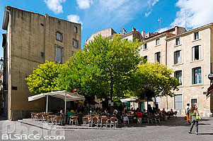 Photo : Place du Petit Scel, Montpellier, Hérault (34)