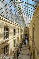 Photo : Passage Pommeraye, Nantes, Loire-Atlantique (44)