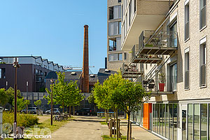 Photo : Rue Louise Weiss, Nantes, Loire-Atlantique (44)