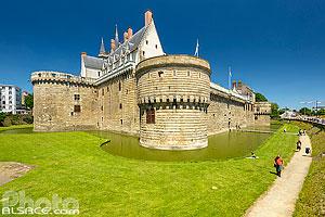 Château des ducs de Bretagne, Nantes, Loire-Atlantique (44), Pays-de-la-Loire, France