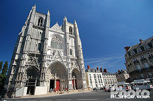 Photo : Cathédrale Saint-Pierre et Saint-Paul, Place Saint-Pierre, Nantes, Loire-Atlantique (44)