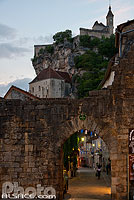 Photo : Porte du Figuier, Rocamadour, Haut-Quercy, Lot (46)