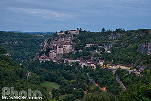 Photo : Rocamadour et la vallée de l'Alzou, Haut-Quercy, Lot (46)