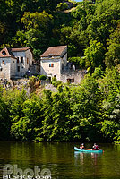 Photo : Le Lot, Tour-de-Faure, Parc naturel régional des Causses du Quercy, Lot (46)