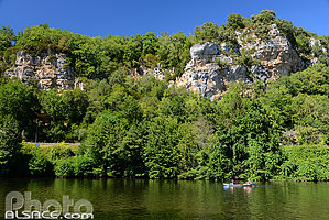Le Lot, Tour-de-Faure, Parc naturel régional des Causses du Quercy, Lot (46)