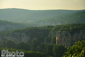 Photo : Paysage du Parc naturel régional des Causses du Quercy, Lot (46)