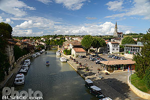 Photo : La Baïse, Nérac, Lot-et-Garonne (47)