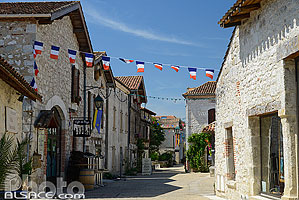 Village de Pujols, Lot-et-Garonne (47), Aquitaine, France