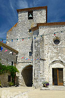 Photo : Village de Pujols, Lot-et-Garonne (47), Aquitaine, France