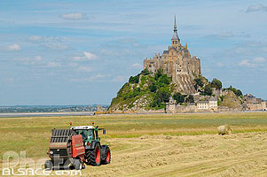 Photo : Le Mont-Saint-Michel, Manche (50)
