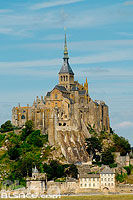 Photo : Le Mont-Saint-Michel, Manche (50), Basse-Normandie, France