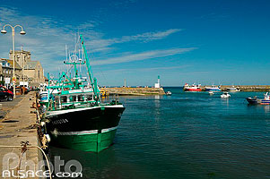 Photo : Port de Barfleur, Manche (50)