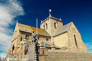 Photo : Eglise Saint-Nicolas, Barfleur, Manche (50)