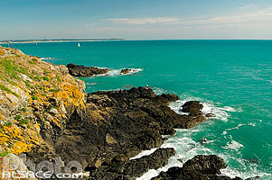 Photo : Pointe du Roc, Cap Lihou, Granville, Manche (50)