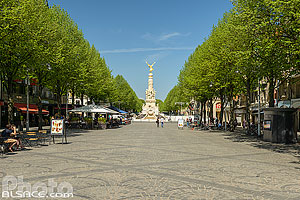 Photo : Place Drouet d'Erlon, Reims, Marne (51), Champagne-Ardenne, France