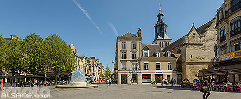 Photo : Place Drouet d'Erlon, Reims, Marne (51)