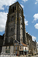 Photo : Eglise Saint-Denis de Sézanne, Sézanne, Marne (51), Champagne-Ardenne, France