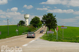 Photo : Route Nationale 4 (RN4), Soudé, Marne (51), Champagne-Ardenne, France