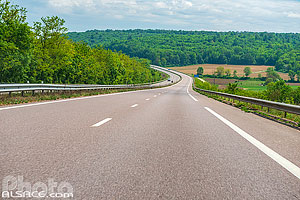 Photo : Route Nationale 4 (RN4), Foug, Meurthe-et-Moselle (54)