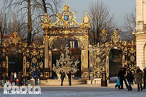 Photo : Fontaine, Place Stanislas, Nancy, Meurthe-et-Moselle (54), Lorraine, France