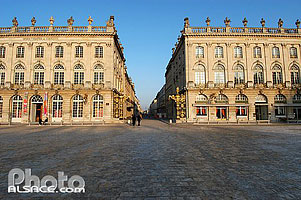 Photo : Place Stanislas et rue Sainte-Catherine, Nancy, Meurthe-et-Moselle (54)