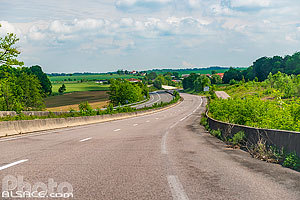 Photo : Route Nationale 4 (RN4), Ancerville, Meuse (55)