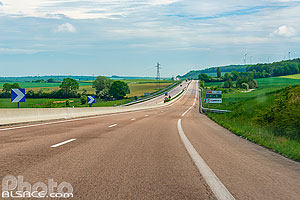 Photo : Route Nationale 4 (RN4), Saulvaux, Meuse (55)