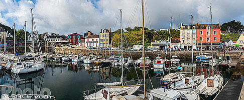 Photo : Port Tudy, Ile de Groix, Morbihan (56), Bretagne, France