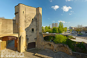 Photo : Porte des Allemands, Metz, Moselle (57)