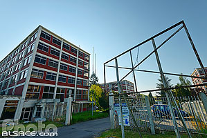 Photo : Complexe industriel Bataville, Moussey, Moselle (57), Lorraine, France