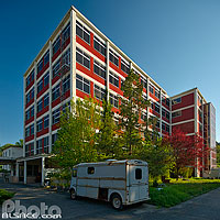 Photo : Complexe industriel Bataville, Moussey, Moselle (57)