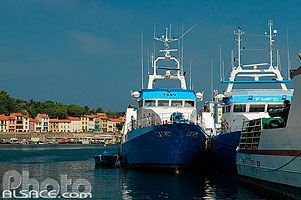 Photo : Port fruitier international, Port-Vendres, Pyrénées-Orientales (66)