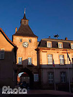 Photo : Tour de l'Horloge, Rosheim, Bas-Rhin (67), Alsace, France