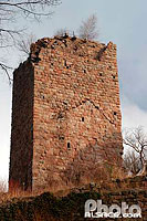 Photo : Chateau du Landsberg, Heiligenstein, Bas-Rhin (67), Alsace, France