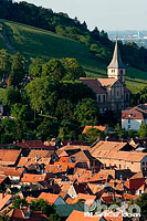 Photo : Vue sur Barr, Bas-Rhin (67), Alsace, France