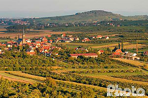 Photo : Village de Westhoffen, Bas-Rhin (67), Alsace, France