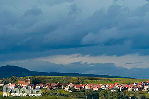 Photo : Village de Itterswiller, Bas-Rhin (67), Alsace, France