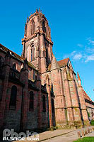 Photo : Eglise Saint-Georges, Place Saint-Georges, Sélestat, Bas-Rhin (67), Alsace, France