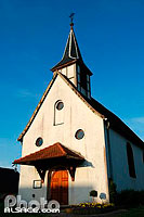 Photo : Eglise Saint-Laurent, Reimerswiller, Commune de Betschdorf, Bas-Rhin (67), Alsace, France