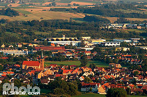 Photo : Village de Monswiller, Bas-Rhin (67), Alsace, France